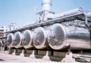 Impianti recupero solventi a vapore
